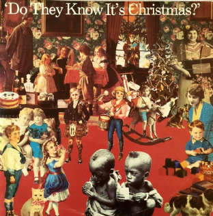"Band Aid - Do They Know It's Christmas? (12"") (VG+/EX)"